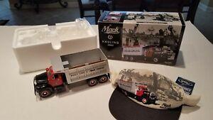 1996 Mack Bulldog Dump Truck #101 with Mack Cap - First Gear 19-1454 (new)