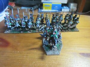 PRO-PAINTED 28MM, PERRY NAPOLEONIC ITALIAN INFANTRY BATTALION x 35,EXCELLENT