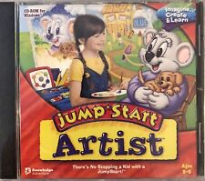JumpStart Artist Pc New XP Arts Crafts Famous Art Cultural Animated Movies Songs