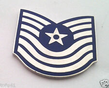 US AIR FORCE MASTER SGT RANK BEFORE 1991 Military Veteran Rank Pin 14339 HO