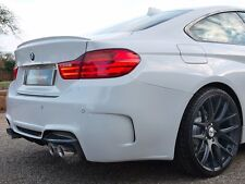 BMW F32 4 SERIES COUPE 2013-ON REAR BOOT LIP TRUNK SPOILER M2 AERO STYLING Y2414
