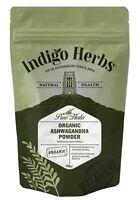 Organic Ashwagandha Powder - 100g - Indigo Herbs
