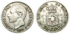 ALFONSO XII. 50 CENTIMOS. 1881 * 81