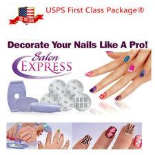 Nail Design Kit Set DIY Nail Art Stamping Decals Hot Tools Manicure Machine