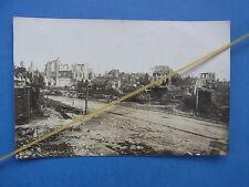 Foto Kriegszerstörungen in Wytschaete Flandern Belgien