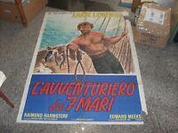 La ' Aventurero de 7 Mari Manifesto 2F Original 1974
