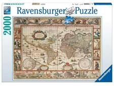 Ravensburger 16633 Puzzle 2000 pz Mappamondo 1650