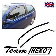 SET OF FRONT WIND DEFLECTORS SEAT IBIZA mk4 6L 3 DOORS 2002-2008 2pcs HEKO