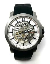 c166ebd80f8 Kenneth Cole Men s Automatic Watch IP Steel Case with Black Silicone Strap