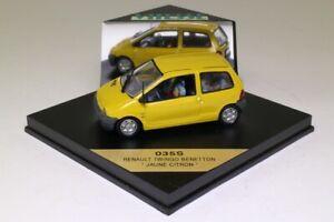 Vitesse 035S; Renault Twingo; Jaune Citron, Lemon Yellow; Excellent Boxed