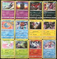 Complete Set Rare Holos Uncommons Commons SM Shining Legends Pokemon Card TCG