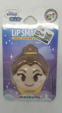 Disney Emoji Lip Smacker Belle Best Flavor Forever #LastRosePetal Flavor .26oz