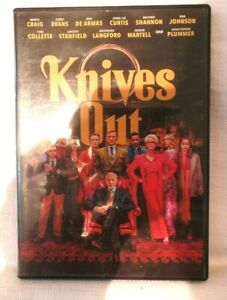 KNIVES OUT, DVD, CASE & CASE COVER ARTWORK, g