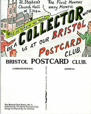 BRISTOL POSTCARD CLUB LIMITED EDITION ADVERTISING POSTCARD NUMBER 1
