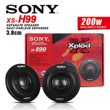 BRAND NEW IN BOX SONY XS-H99 XPLOD 3.8CM CAR TWEETERS 200 WATTS