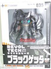 KAIYODO Revoltech 35 035 BLACK GETTER ROBO 1 OVA Figure