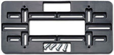 JAGUAR FRONT REAR LICENSE PLATE HOLDER MOUNT TAG BRACKET FOR BUMPER