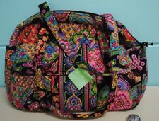 Vera Bradley SYMPHONY IN HUE Baby Diaper Bag Carry On Gym Travel Tote Purse NWT