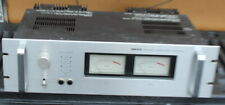 Vintage Nikko Alpha lI Power Amplifier w/ Rack Mount Faceplate, Meters, Handles
