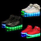 7 Color Unisex LED Light Shoes Luminous Boys Girls Shoes Sneaker Shoes For Kids