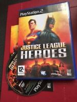 DC - Justice League Heroes  Sony PlayStation 2 ps2 pal COMPLETE - Retro