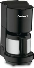 Cuisinart 4 Cup Coffeemaker with Stainless Steel Carafe - Black