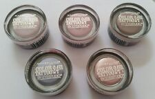 """5 PIECES MAYBELLINE COLOR TATTOO 24 HR EYESHADOW """"SET"""", LIMITED EDITION, SEALED."""