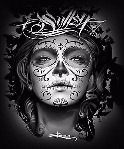 Sullen Art Collective My Love Sullen Signature Queen Blanket Black