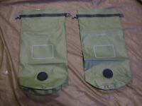 Lot of two (2) USMC ILBE MAC Sack waterproof dry bags - New in packaging
