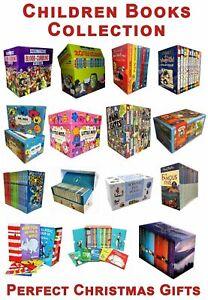 Children Books Collection Set Christmas Gift Harry Potter, Roald Dahl, Wimpy Kid