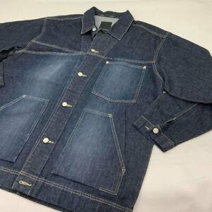Men's Sean John Raw Blue Sandblast Denim Jacket