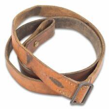 Original German Military Leather Rifle Sling - Used Surplus
