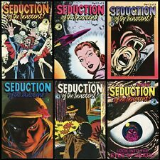 Seduction of the Innocent Comic Set 1-2-3-4-5-6 Eclipse Horror Werewolf Frazetta