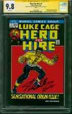 Luke Cage Hero for Hire 1 CGC 2XSS 9.8 Stan Lee John Romita 06 Legends Variant