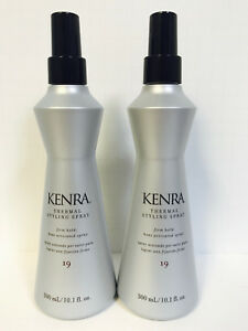 KENRA THERMAL STYLING SPRAY #19 - 10.1 oz x2!