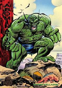 ABOMINATION / Marvel Universe Series 5 (1994) BASE Trading Card #186