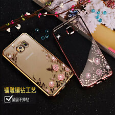 Secret Garden Rubber Soft TPU Silicone Phone Case Cover for Samsung Galaxy S6 S7