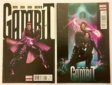 Gambit #1 #3 NM/NM+ 9.6 HIGH GRADE LOT Marvel 2012 MOVIE COMING! LOW PRINT RUN!