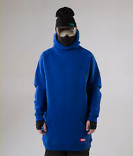 Men's NM4 oversized Hoodie Extra Tall Snowboard Ski Sweater navy