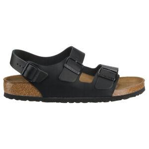 Birkenstock Unisex Sandals Milano BS Casual Buckles Straps Slingbacks Leather