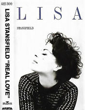 LISA STANSFIELD REAL LOVE CASSETTE ALBUM Synth-pop, Soul 13track