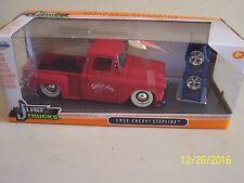 New 1955 Chevy Chevrolet Stepside Pickup Truck Jada Just Trucks Die Cast