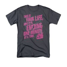FIGHT CLUB LIFE ENDING Licensed Adult Men's Graphic Tee Shirt SM-5XL