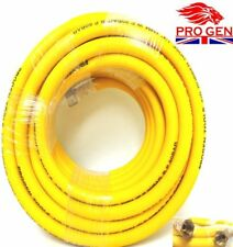 "HEAVY DUTY 10M 1/4"" INCH 30FT AIR HOSE LINE GARAGE WORKSHOP TOOL WITH FITTINGS"