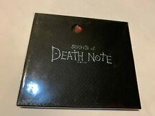 DEATHNOTE DEATH NOTE  SOUND ANIMATION RARE SERIES ANIME GAME OST CD SOUNDTRACK