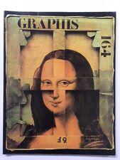 Graphis 164 Vintage International Design Advertising Illustration 1972-73 Herdeg