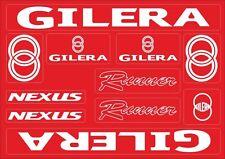 Gilera Runner Nexus Motorcycle Decals Stickers Bike Graphic Set Vinyl Logo Red