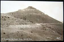 SALIDA CO~1940's MT. TENDERFOOT AND SPIRAL DRIVE ~ SANBORN Real Photo PC  RPPC