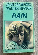 Rain (1932) Joan Crawford, Walter Huston RARE Betamax