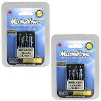 MaximalPower Battery For KODAK KLIC-5001 DX6490 DX7440 DX7590 DX7630 (2PK)